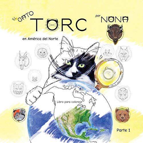 El GATO TORC en América del Norte Libro para colorear parte 1