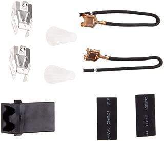 Receptacle Burner Receptacle Kit For 330031 Range Whirlpool Kenmore Sears and Roper Refrigerator Oven 814399 5303935058 1pcs