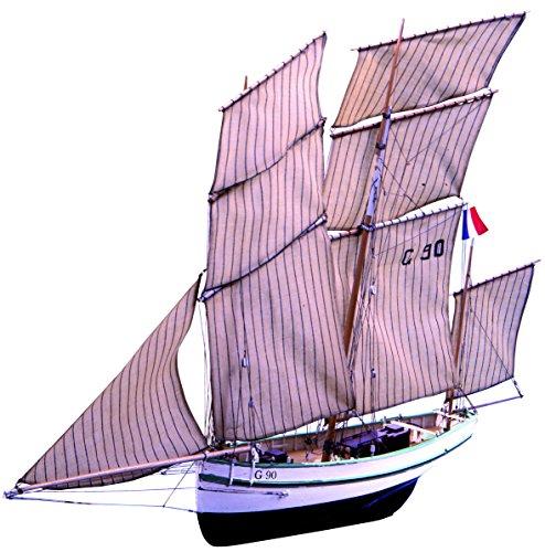 Soclaine Claine- Maqueta de Barco de Madera para Montar,