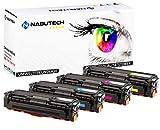 4 Fabrikneue Nabutech Toner kompatibel zu CLT-P504C P504C für Samsung CLP-410 CLP-415N CLP-415NW CLX-4190 CLX-4195FN CLX-4195FW CLX-4195N Xpress C1810W C1860FW (geprüft nach ISO 19798)