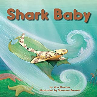 Shark Baby audiobook cover art