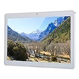 Tableta LCD HD de 10 pulgadas, tableta de teléfono 3G, tableta de 8 núcleos 1GB + 32G para Android7.0, con carcasa de aleación de aluminio, compatible con red 2G / 3G para hacer llamadas(blanco)
