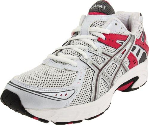 ASICS Women's Gel-Strike 3 Running Shoe,White/Silver/Sorbet,11.5 M US