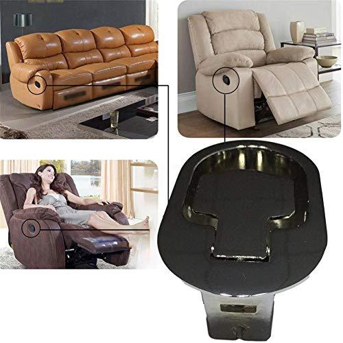 chinejaper Sofa Ersatz Parts Universal-Liegestuhl-Griff mit Kabel Ersatzteile für Lehnstuhl Pull Legierung Release Griff Entriegelungsgriff Griff für Lehnstuhl Griff-Ersatz
