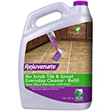 Rejuvenate Non-Toxic Bio-Enzymatic Safe and Scrub Free Tile and Grout Cleaner Lightens and Brightens Every Time (1 Gallon)