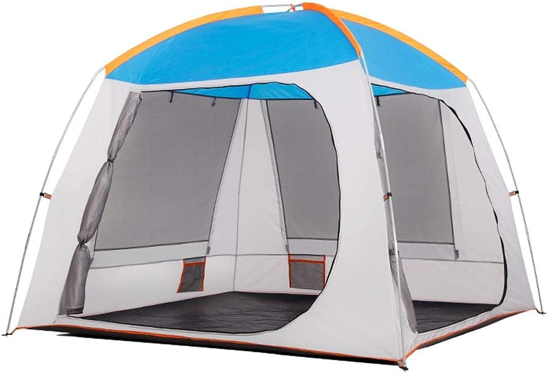 Zyj Tente pour Enfants intérieure Play House Big House 2-3-4 Personnes Famille Tente Adulte portable extérieur Tente intérieure (Couleur   A)