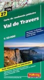 Val de Travers Wanderkarte Nr. 27, 1:50 000: Ste-Croix, La Brévine, Le Chasseron, Grandson, Creux du Van (Hallwag Wanderkarten)