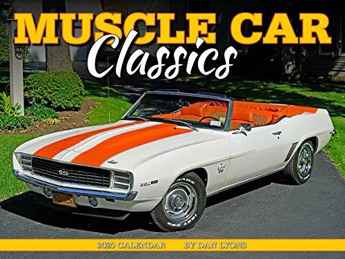 Muscle Car Classics 2020 Calendar