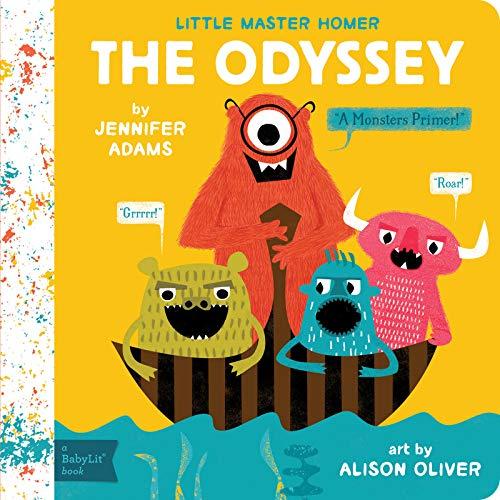 Little Master Homer: The Odyssey: Babylit (BabyLit Primers)