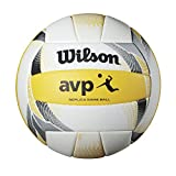 Wilson Unisex-Erwachsene AVP RECREATIONAL VB Volleyball, YELLOW/WHITE, Official, WTH6017XB