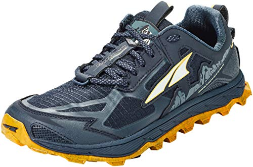 ALTRA Men's AL0A4PE5 Lone Peak 4.5 Trail Running Shoe, Carbon Blue - 9.5 M US