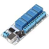 LKK-KK Tipo-B USB placa de relés, Controlador de 4 canales 12 VCC Tipo-B USB relé Junta Módulo de Automatización Robótica (CC 5V)