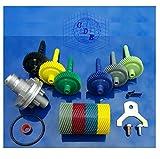 GM TURBO 700R4 350 TH350 4L60 AUTOMATIC TRANSMISSION SPEEDOMETER GEAR KIT 15 17 18 19/40 41 42 43 44 45 TEETH