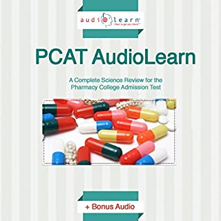 PCAT AudioLearn audiobook cover art
