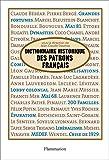 Dictionnaire historique des patrons francais - Format Kindle - 21,99 €
