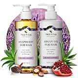 Gentle Argan Oil Shampoo & Conditioner by Tree to Tub—pH 5.5 Balanced...