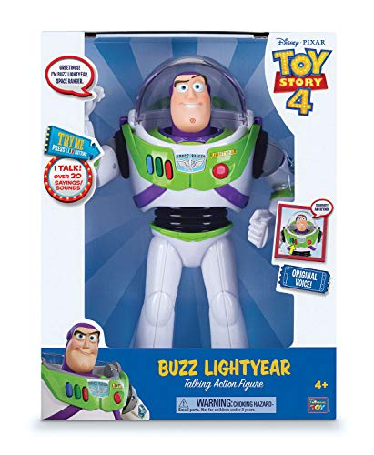 """MTW Toys 64069"""" Disney Pixar Toy Story - Figura de acción parlante"""
