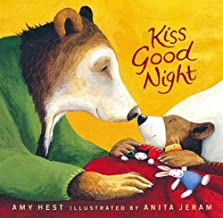 By Amy Hest Kiss Good Night Lap-Size Board Book (Sam Books) (Brdbk Rei) [Board book]