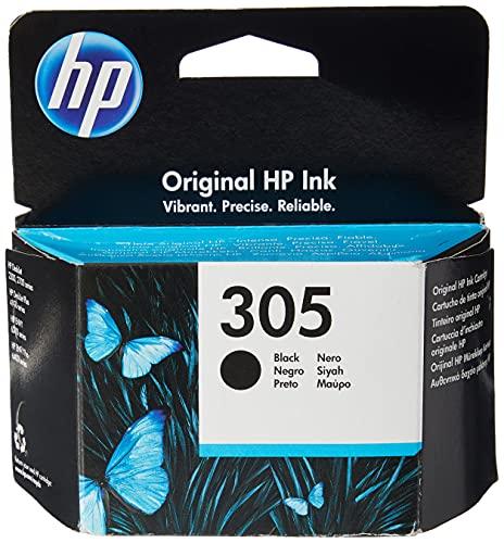 HP - 305 3YM61AE Cartuccia di inchiostro, Compatibile con HP DeskJet 2300, 2700, HP DeskJet Plus serie 4100, HP Envy serie 6000, HP DeskJet Envy Pro serie 6400, Nero