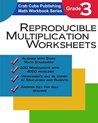 Reproducible Multiplication Worksheets: Math Workbook Series from CreateSpace Independent Publishing Platform