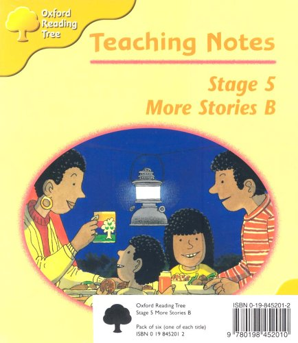 Oxford Reading Tree: Stage 5: More Storybooks: Pack B (6 books, 1 of each title)の詳細を見る