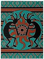 BOIPEEI ネイティブインディアン南西部1000ピースジグソーパズル大人用ティーンズ退屈バスターアクティビティブレインティーザー家の装飾ギフト