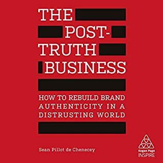 The Post-Truth Business audiobook cover art