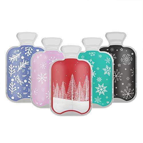 Imline Premium Handwärmer [5er Set] Taschenwärmer für unterwegs im Wärmflaschen Design wiederverwendbar - sofort aktivierte langanhaltende Wärmekissen