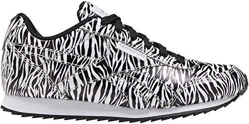 Reebok Royal CLJOG 2, Zapatillas para Mujer, Multicolor (Negro/Blanco/None), 36 EU