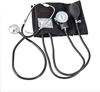 Cushion Kit Manguito de presión Arterial en casa con el Manual esfigmomanómetro Estetoscopio y Estuche de Transporte