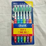 Oral B Cavity Defense ToothBrush 6 Pack