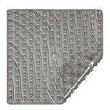 Vive Shower Stall Mat - Non Skid Bathtub Floor for...