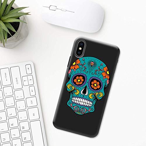 Mexiko (Tag der Toten) iPhone Hülle XR 11 X XS MAX Pro 8 7 Plus 6 6s 5 5s SE 2020 10 Plastik Silikon Apple iPhone phone case Schädel Maske Azteken Mexikanische festival halloween