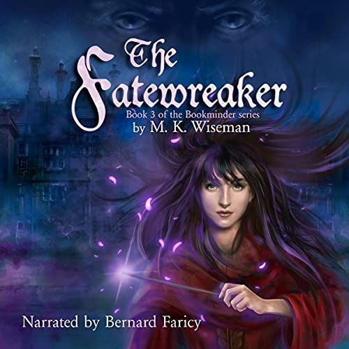 The Fatewreaker Audiobook By M. K. Wiseman cover art