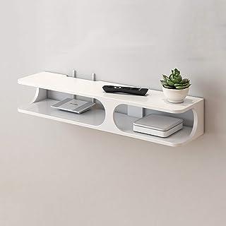 Los estantes flotantes Dormitorio Router Caja de almacenamiento Partition Wall Wall, TV conjunto de TV Tapa superior de ca...