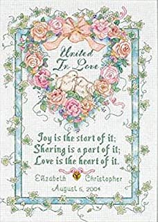 Best wedding anniversary cross stitch patterns Reviews