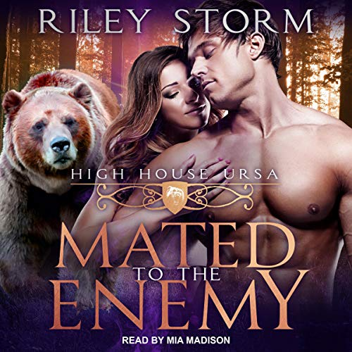 Mated to the Enemy Audiobook By Riley Storm cover art