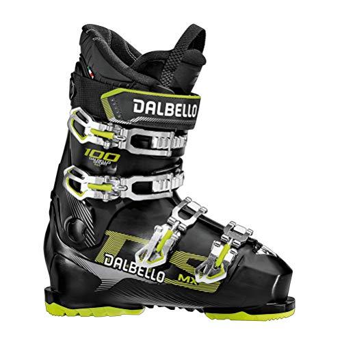 Dalbello DS MX 100 MS Black, Scarponi da Sci Uomo, Nero, 30.5