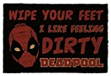 1art1 Deadpool Paillasson Essuie-Pieds - Dirty (60 x 40 cm)
