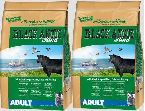 Markus Mühle - comida para perros Adultos de Black Angus