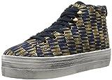 No Name Plato High Cut Tippie, Zapatillas Mujer, Azul-Bleu (Blue), 38