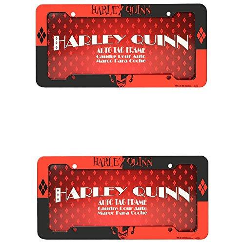 51R9MfpFy8L Harley Quinn License Plate Frames