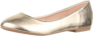 Elara Ballerines Femme Confortable Slip-Ons Plat Chunkyrayan
