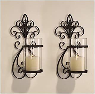 Best vertical wall candle holders Reviews