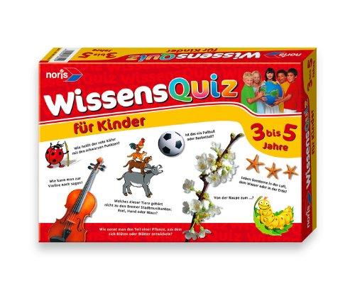Noris 606016250 - Wissensquiz für Kinder von 3 - 5 Jahren