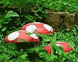 GenericBrands Kits de Pintura por números para Adultos o niños Casa de Setas DIY Lienzo Kit de Pintura al óleo con Pinceles Pigmento acrílico Pintura de Dibujo 16X20 Pulgadas Sin Marco
