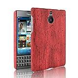 Oujiet-eu HD Funda para Blackberry Passport Silver Edition Funda PC Plástico Duro Carcasa Case Cover 2