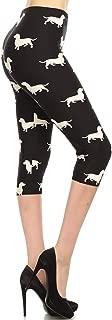 plus size dachshund leggings