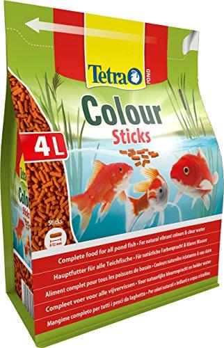 Tetra Pond Colour Sticks (Hauptfutter zur Entfaltung der natürlichen Farbenpracht aller Teichfische), 4 Liter Beutel - 2