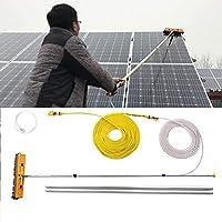 YNWUJIN ウィンドウクリーンポール、太陽光発電、太陽光パネル、車、キャラバン、トラック、キャンポ、バス、洗車、ウォーターブラシ、4.5-9Mブラシ,6M / 19.7フィート